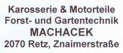 Machacek, Karosserie & Motorteile, Forst- u. Gartentechnik, Retz